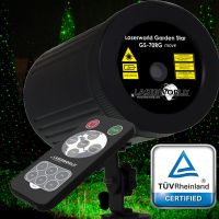 Laserworld Gartenlaser GARDEN STAR GS-70RG move