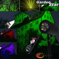 Laserworld GS-80RG LED GARDEN STAR mit Fernbedienung