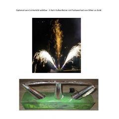 Bausatz Lichterbild Feuerschrift 1 Buchstabe oder Zahl