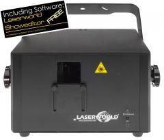 Laserworld PRO-800RGB - ILDA DMX Showlaser