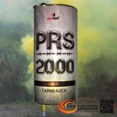 PRS2000 Tarnrauch Mega Rauchtopf mit Reißzünder 100s, Gelb - T1