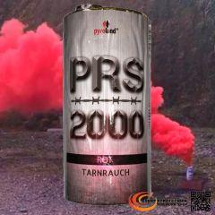 PRS2000 Tarnrauch Mega Rauchtopf mit Reißzünder 100s, Rot - T1