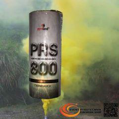 PRS800 Tarnrauch Mega Rauchtopf mit Reißzünder 45s, Gelb - T1