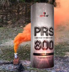 PRS800 Tarnrauch Mega Rauchtopf mit Reißzünder 45s, Orange - T1