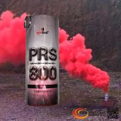 PRS800 Tarnrauch Mega Rauchtopf mit Reißzünder 45s, Rot - T1
