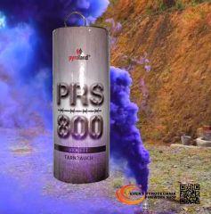 PRS800 Tarnrauch Mega Rauchtopf mit Reißzünder 45s, Violett - T1