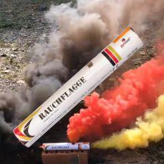 Rauchflagge schwarz-rot-gold T1 - 40 Sekunden