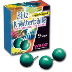 Weco Blitz Knatterbälle 9 Stück - F1