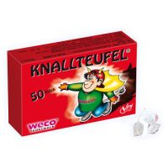 Feuerwerk Schulanfang -  Weco Knallteufel 50 Stück - F1