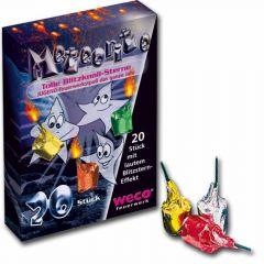 Feuerwerk Schulanfang -  Weco Meteorite 20 Stück - F1