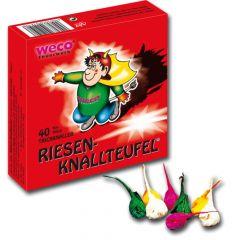 Feuerwerk Schulanfang -  Weco Riesen Knallteufel 40 Stück - F1