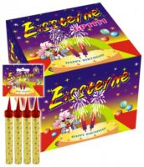 Feuerwerk Schulanfang -  Zaubersterne Tortenfontäne Eissterne 4er Set a 30 Sek. - F1